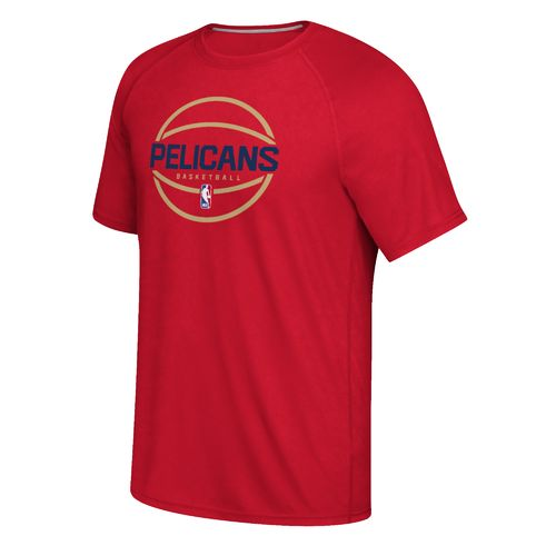 adidas™ Men's New Orleans Pelicans climalite® Ultimate Short Sleeve T-shirt