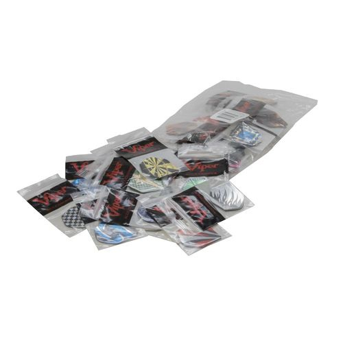 GLD 2-D Glitter Dart Flights 150-Count