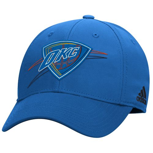 adidas™ Men's Oklahoma City Thunder Structured Flex Cap