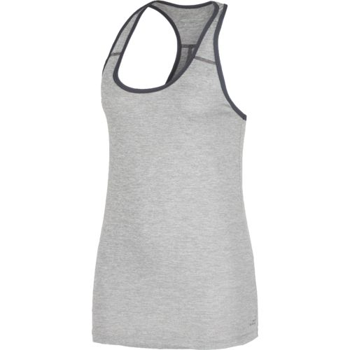 Display product reviews for BCG Women's Heathered Racerback Tech Tank Top