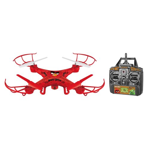World Tech Toys Angry Birds Red Squawk-Copter RC Camera Drone