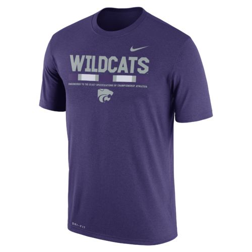 Nike™ Men's Kansas State University Dri-FIT Legend Staff T-shirt