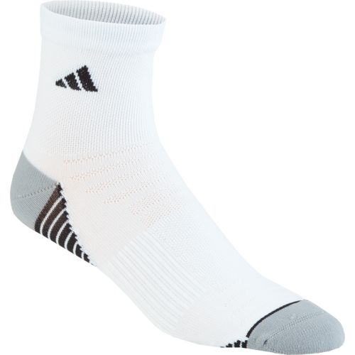 adidas Men's Superlite Speed Mesh Quarter Socks - view number 1