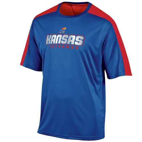 Champion™ Men's University of Kansas Colorblock T-shirt