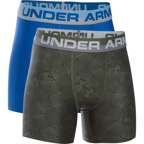 Under Armour Boys' Original Series Boxerjock Novelty Boxer Briefs 2-Pack