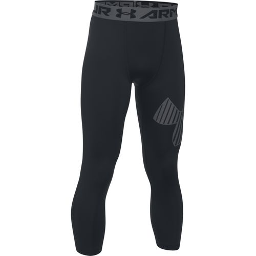 Under Armour Boys' 3/4 Logo Legging - view number 1