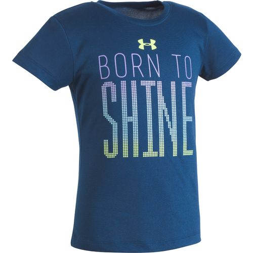 Under Armour Girls' Born to Shine T-shirt