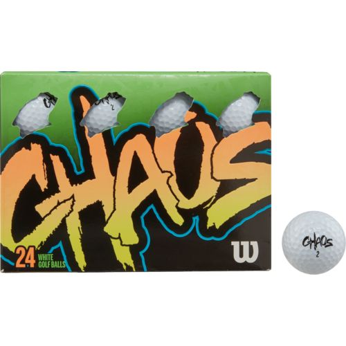 Display product reviews for Wilson Chaos Golf Balls