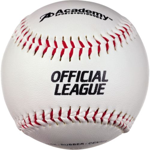 Display product reviews for Academy Sports + Outdoors Practice Baseballs 12-Pack
