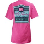 Three Squared Juniors' McNeese State University Baylee V-neck T-shirt - view number 1