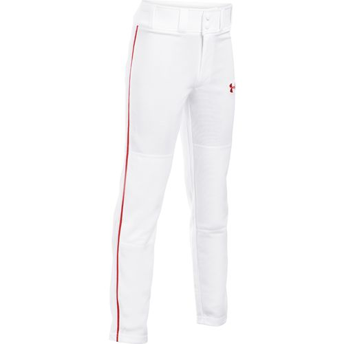 White/Medium Red