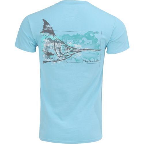 Magellan Outdoors Men's Water Drawn Marlin T-shirt