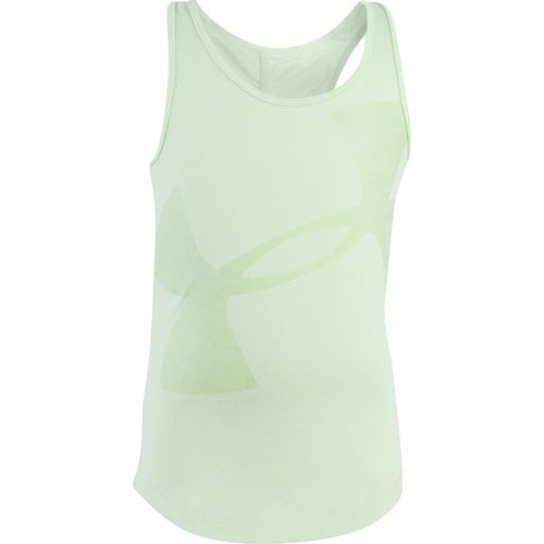 Under Armour Girls' Big Logo Tank Top