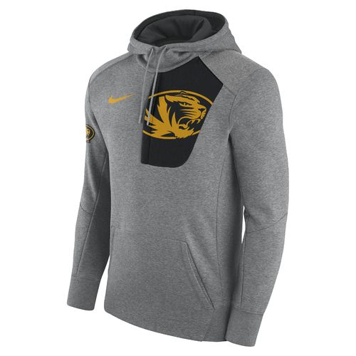 Nike Men's University of Missouri Fly Fleece Pullover Hoodie