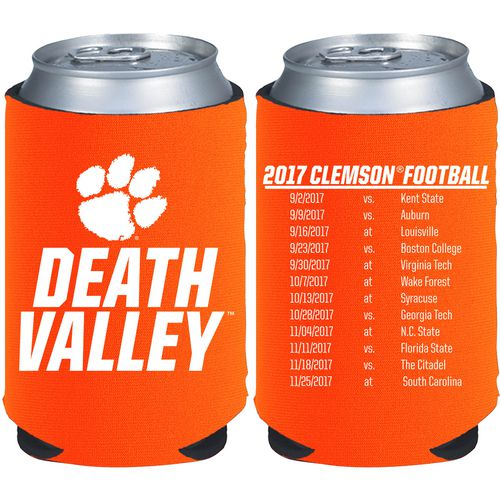 Kolder Kaddy Clemson University 2017 Football Schedule 12 oz Can Insulator