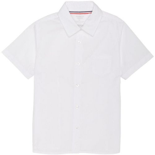 French Toast Girls' Short Sleeve Pointed Collar Blouse