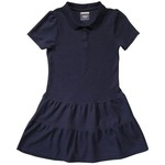 French Toast Girls' Ruffled Pique Polo Dress - view number 1