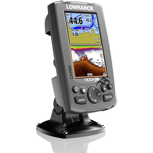 Lowrance Hook-4 Mid/High/Downscan Fishfinder/Chartplotter with Insight Pro - view number 3