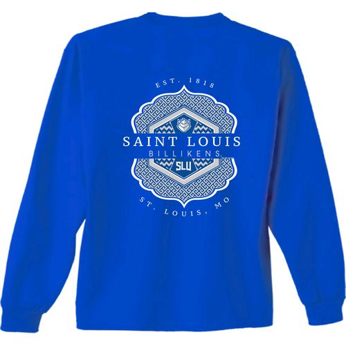 New World Graphics Women's Saint Louis University Faux Pocket T-shirt