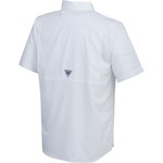 Columbia Sportswear Men's East Carolina University Low Drag Offshore Short Sleeve Shirt - view number 2
