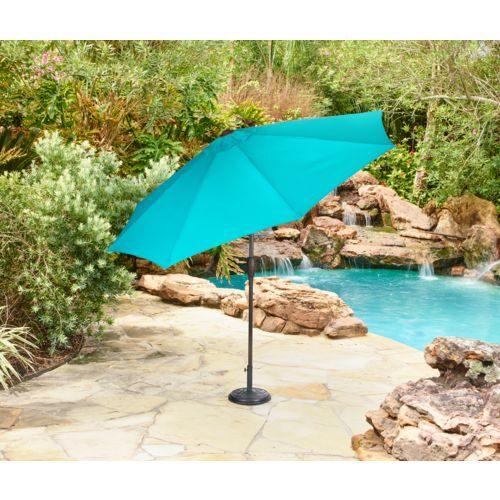 Mosaic 9 ft Aluminum Frame Market Umbrella - view number 3
