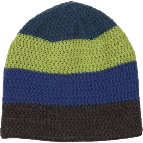 Magellan Outdoors Boys' Stripe/Camo Reversible Beanie