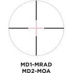 Vudu MD2-MOA Precision Riflescope - view number 5