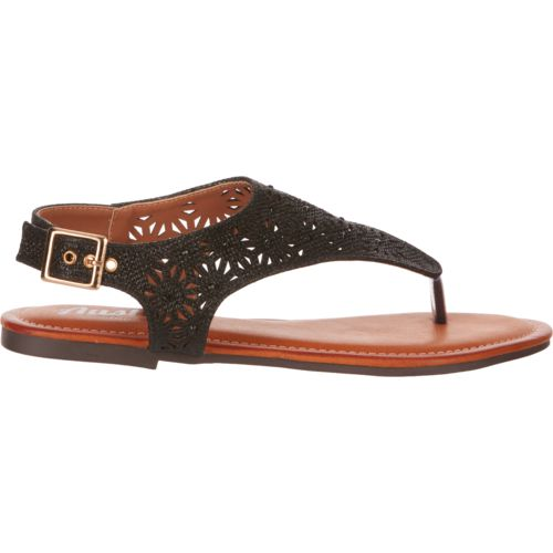 Display product reviews for Austin Trading Co. Women's Glitter Chop Out Thong Sandals