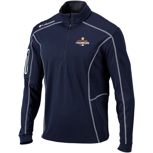 Columbia Sportswear Men's Astros World Series Champions Shotgun 1/4 Zip Shirt