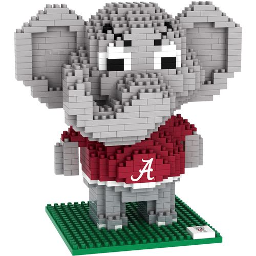 Forever Collectibles University of Alabama 3-D BRXLZ Mascot Puzzle
