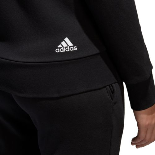 adidas Women's Essentials Linear Full Zip Hoodie - view number 9
