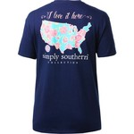 Simply Southern Women's USA T-shirt - view number 2