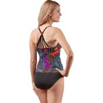 Jantzen Women's Bohemian Nights V-neck 1-Piece Swimsuit - view number 2