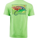 Southern Heritage Men's Trout Fly T-shirt - view number 2