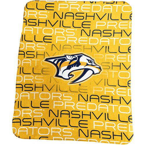 Logo Nashville Predators Classic Fleece Blanket