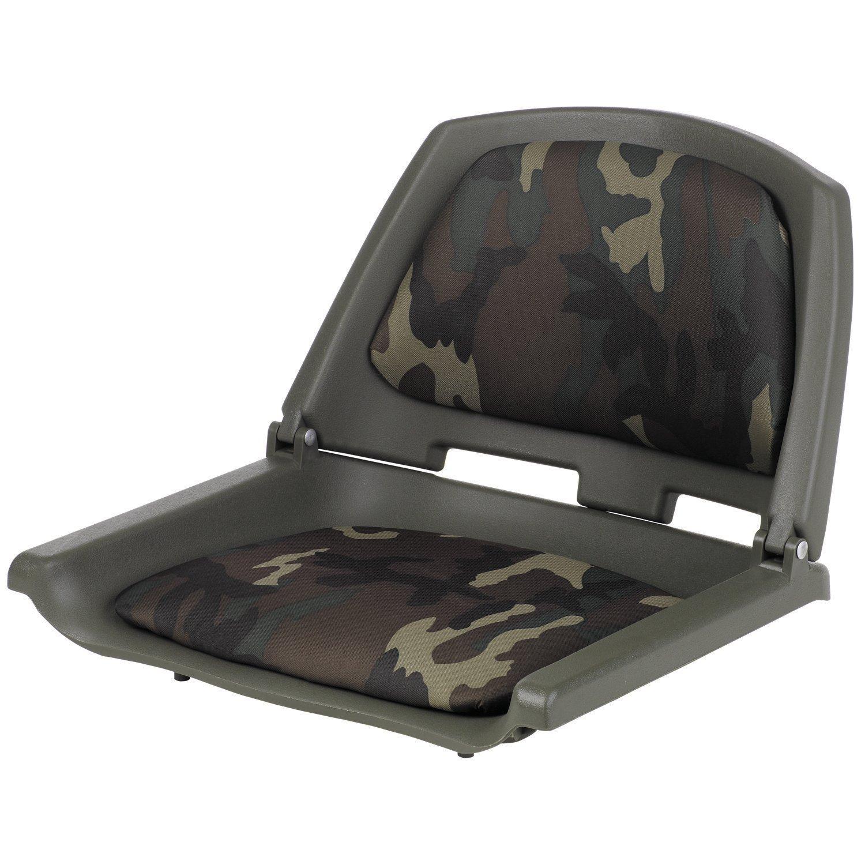 Marine Raider Padded Fold-Down Boat Seat