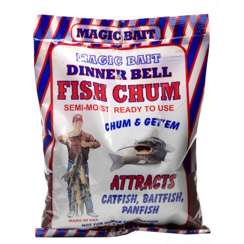 Display product reviews for Magic Bait Dinner Bell 2 lb. Fish Chum