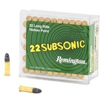 Remington Subsonic™ .22 LR 38-Grain Rimfire Rifle Ammunition