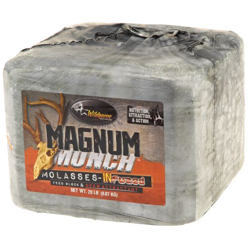 Display product reviews for Wildgame Innovations Game Feeder 20 lb. Magnum Munch Feed Block