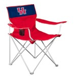 Logo University of Houston Folding Canvas Chair