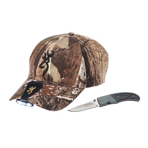 Browning 6020 Night Seeker Cap Light, Knife, and Cap Combo