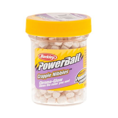 Berkley® PowerBait Chroma-Glow Crappie Nibbles - view number 1