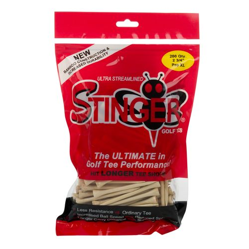 Stinger Tees 2.75' Pro XL Golf Tees 200-Pack