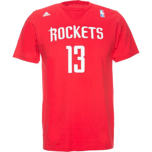 adidas Men's Houston Rockets James Harden No. 13 Game Time T-shirt
