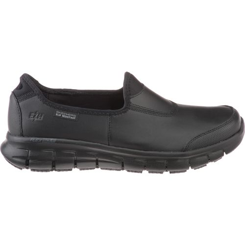 SKECHERS Womenu0026#39;s Suretrack Slip-On Work Shoes | Academy