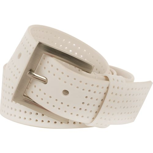PGA TOUR Men's Perforated Silicone Belt