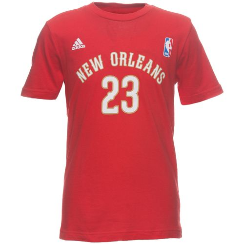 Image for adidas Boys' New Orleans Pelicans Game Time T-shirt from Academy
