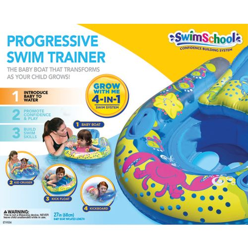 Image for Aqua-Leisure Kids' Swim School Progressive 4-in-1 Swim Float from Academy