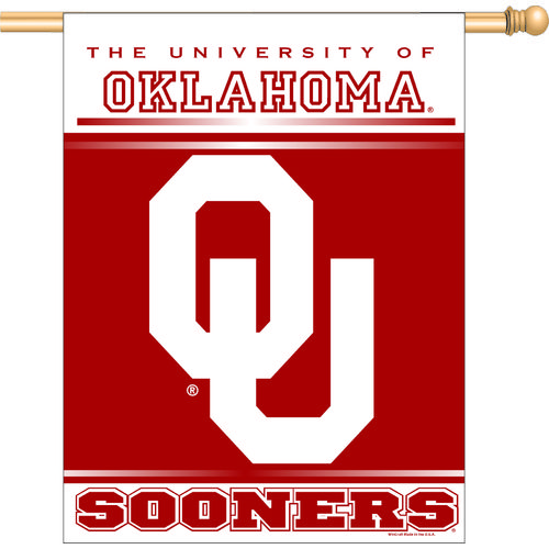 WinCraft University of Oklahoma Vertical Flag