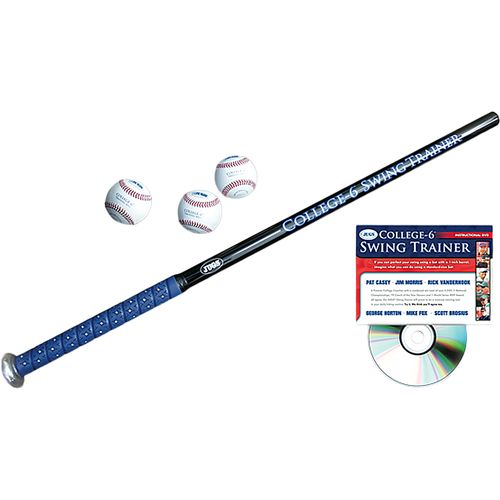 JUGS College-6™ Swing Trainer Baseball Bat Package